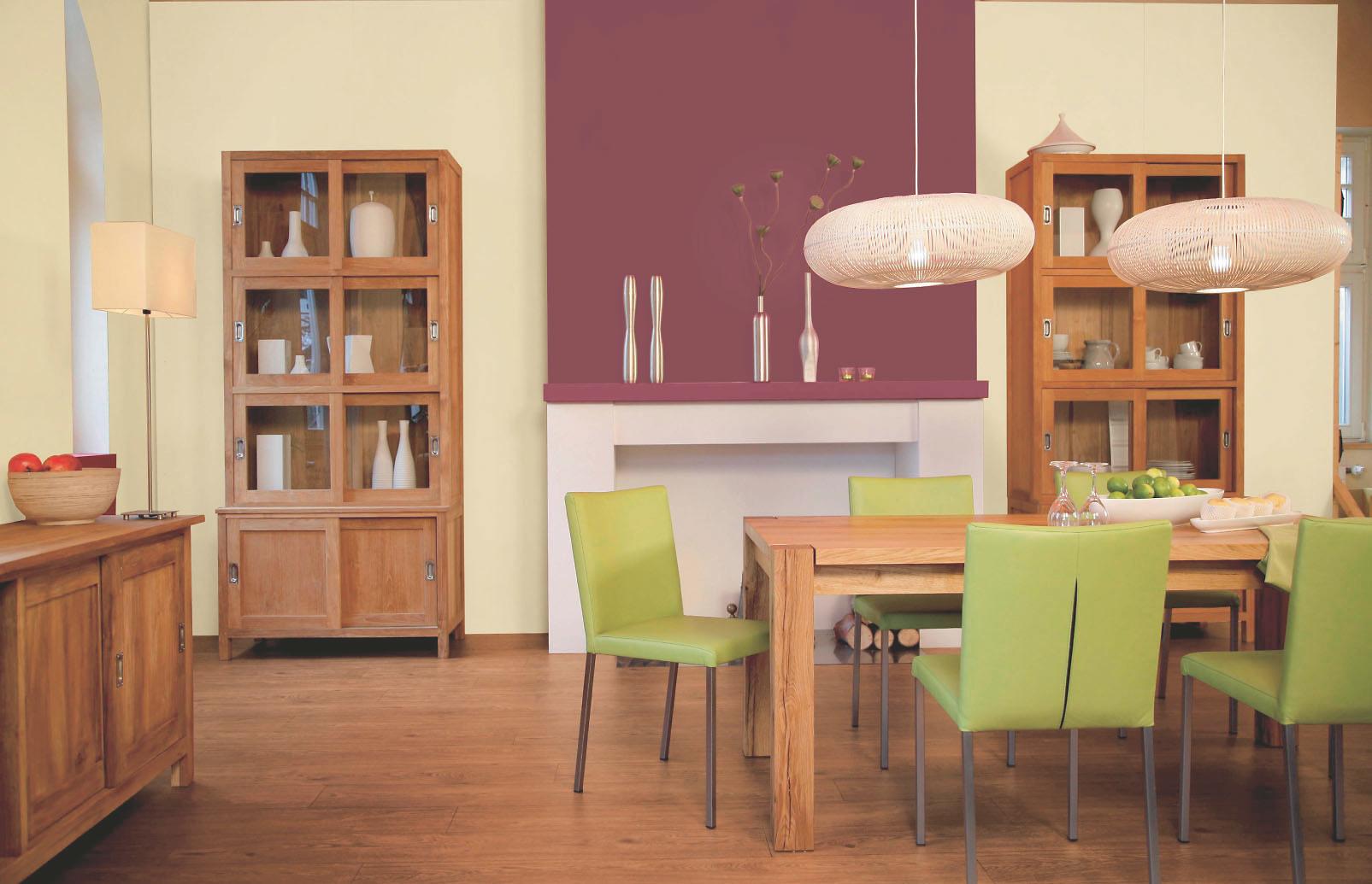 Welche Wandfarbe zu welchem Holz Farben passt: Alpina Farbe
