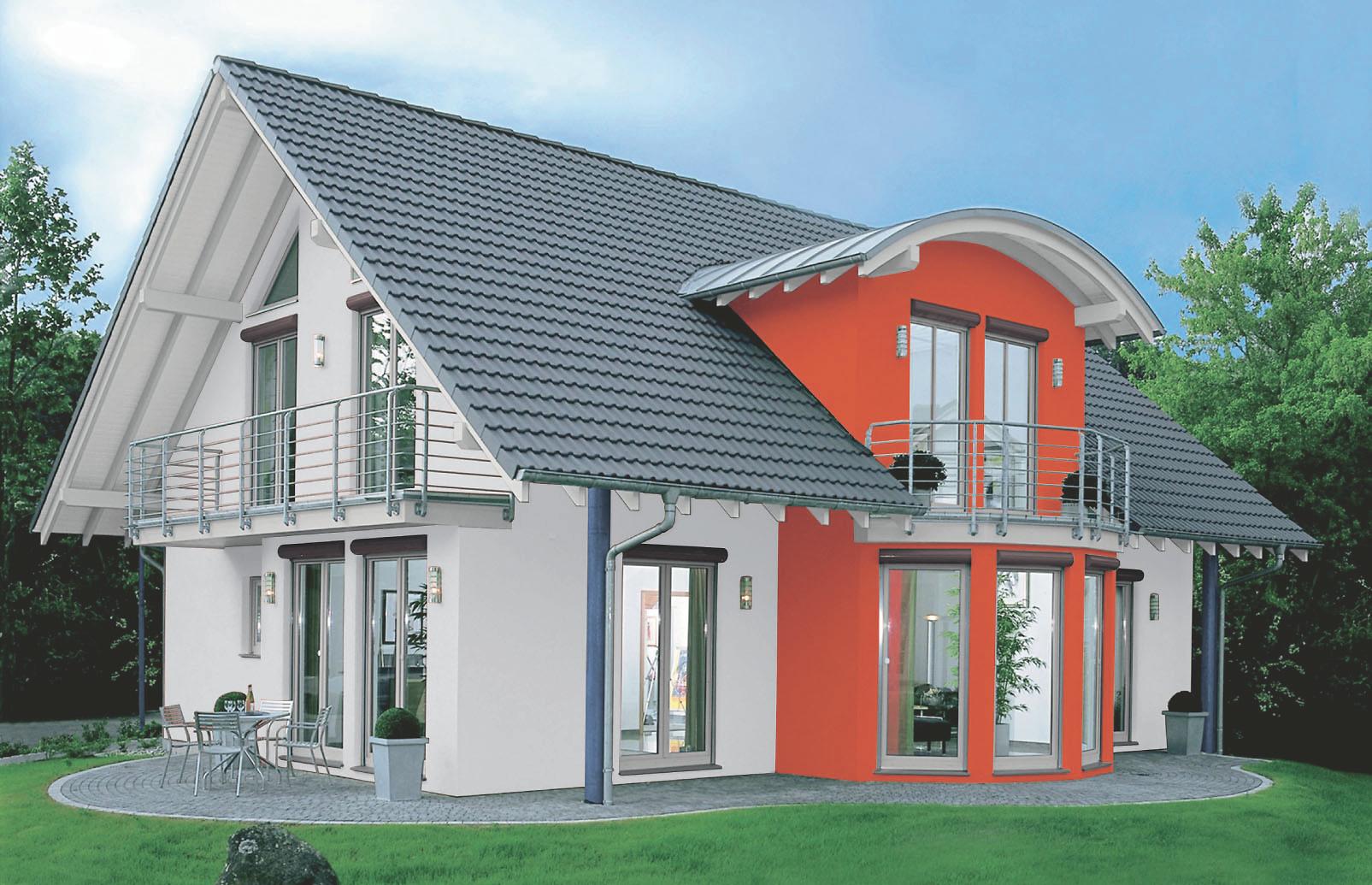Beispiele Fur Fassadenfarben Architektur Zenideen 7