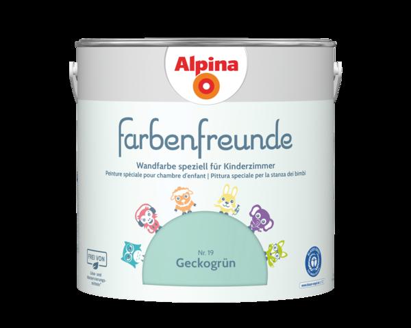 Alpina Farbenfreunde Nr. 19 Geckogrün - Alpina Farben
