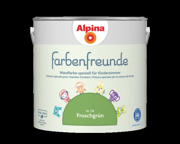 Alpina Farbenfreunde Nr. 08 Froschgrün - Alpina Farben