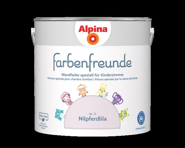 Alpina Farbenfreunde Nr. 17 Nilpferdlila - Alpina Farben