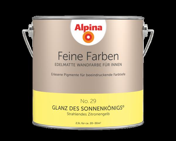 Alpina Feine Farben No. 29 Glanz des Sonnenkönigs - Alpina Farben