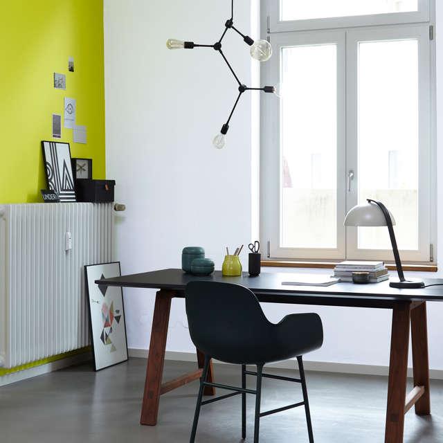 Farbwirkung von Licht und Wandfarbe in Räumen - Alpina Farben