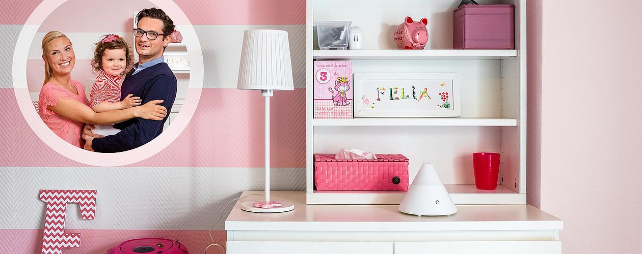 Kinderzimmer umgestalten: Ein Feen-Zimmer in Rosa