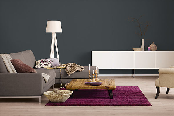 Alpina Farbrezepte Innenfarbe Dunkle Eleganz - Alpina Farben