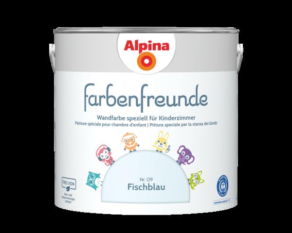 Alpina Farbenfreunde Nr. 09 Fischblau - Alpina Farben