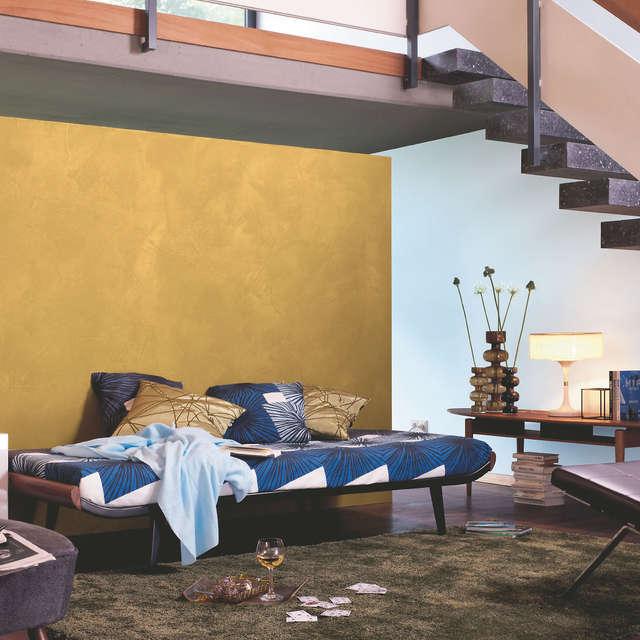 Kreative Wandgestaltung mit Effektfarben - Alpina Farben