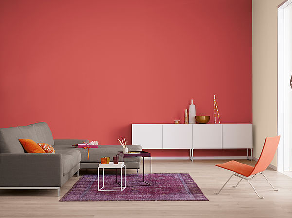 Alpina Farbrezepte Innenfarbe Roter Ahorn - Alpina Farben