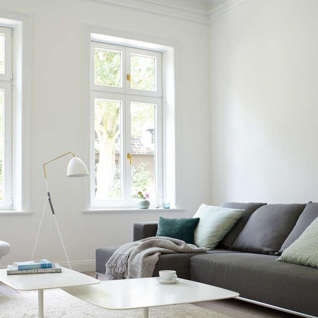 Weiße Wände – klassisch Clean - Alpina Farben