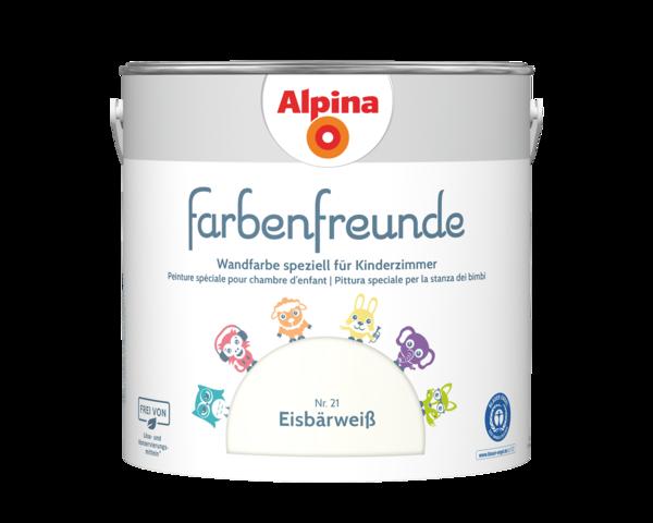 Alpina Farbenfreunde Nr. 21 Eisbärweiß - Alpina Farben