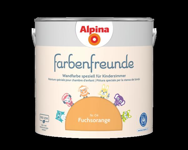 Alpina Farbenfreunde Nr. 04 Fuchsorange - Alpina Farben