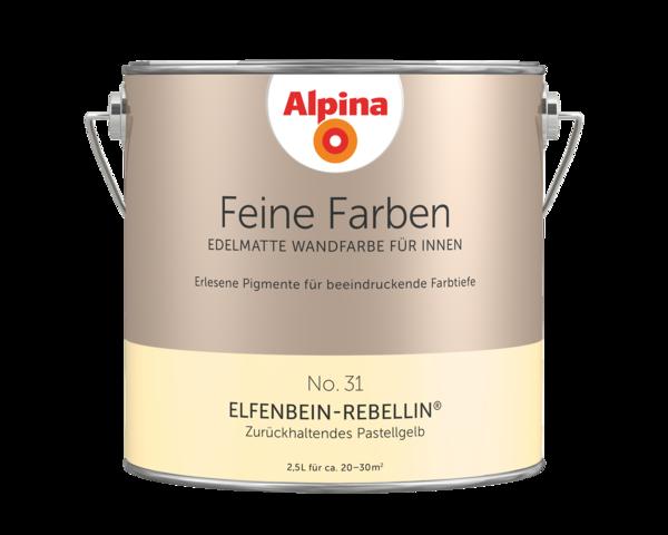Alpina Feine Farben No. 31 Elfenbein-Rebellin - Alpina Farben