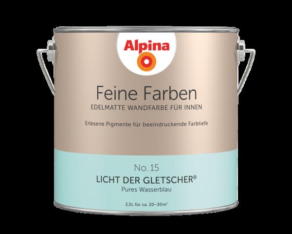 Alpina Feine Farben No. 15 Licht der Gletscher - Alpina Farben