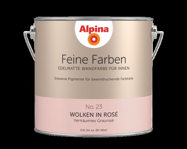 Alpina Feine Farben No. 23 Wolken in Rosé - Alpina Farben