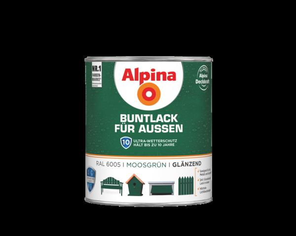 Alpina Buntlack für Außen Moosgrün - Alpina Farben