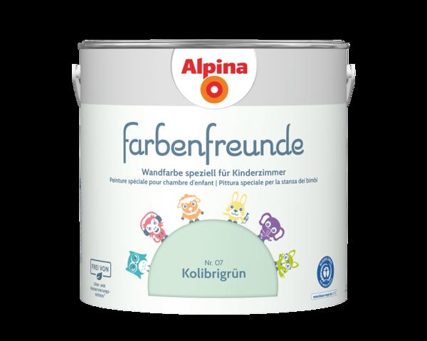 Alpina Farbenfreunde Nr. 07 Kolibrigrün - Alpina Farben