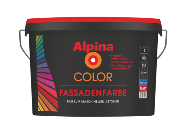 Alpina COLOR Fassadenfarbe - Alpina Farben