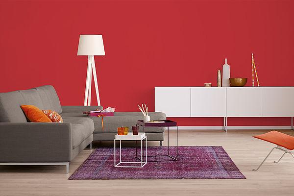 Alpina Farbrezepte Innenfarbe Granatapfel - Alpina Farben