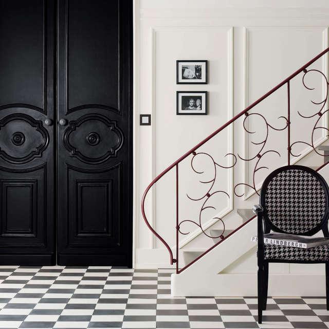 Schwarz und Weiß - Alpina Farben