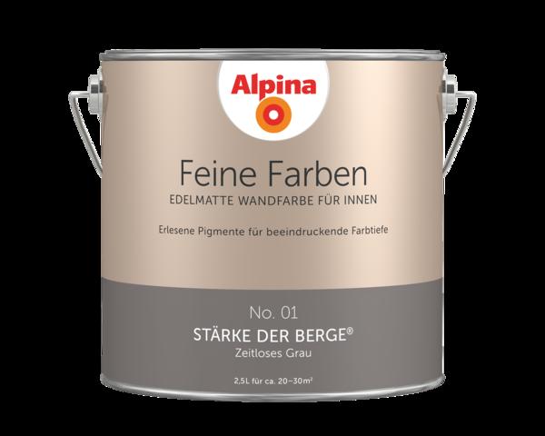 Alpina Feine Farben No. 01 Stärke der Berge - Alpina Farben