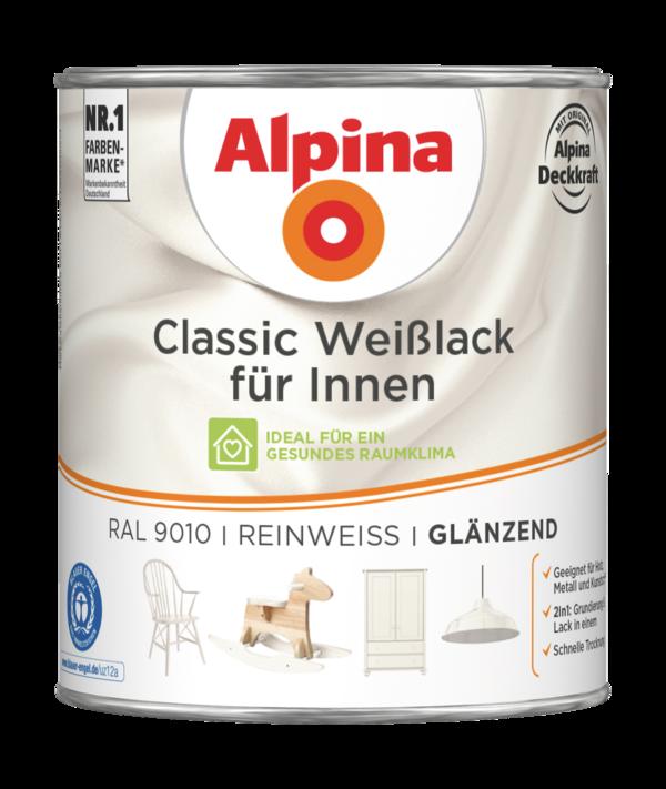 Alpina Classic Weißlack für Innen Reinweiß - Alpina Farben