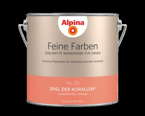 Alpina Feine Farben No. 25 Spiel der Korallen - Alpina Farben