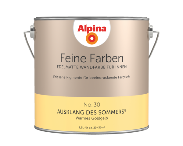 Alpina Feine Farben No. 30 Ausklang des Sommers - Alpina Farben