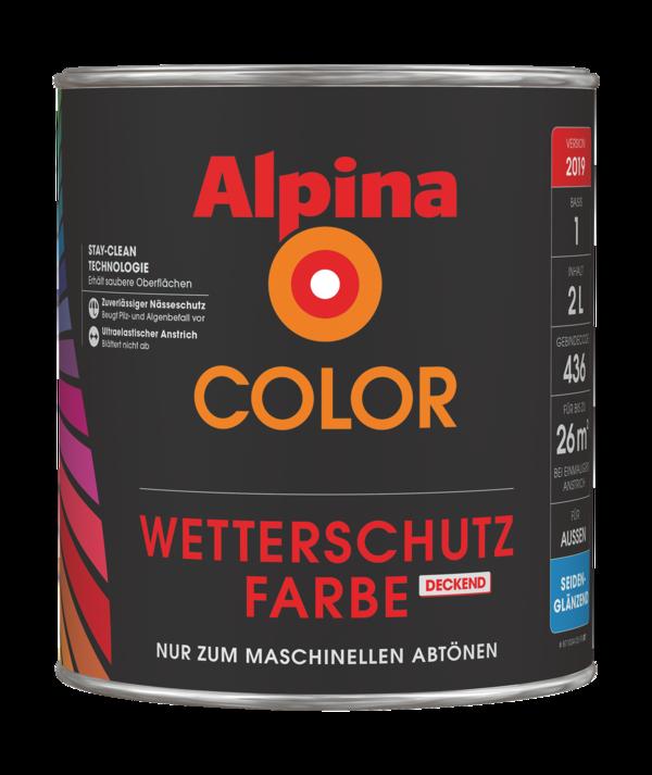 Alpina COLOR Wetterschutz Lackfarbe - Alpina Farben