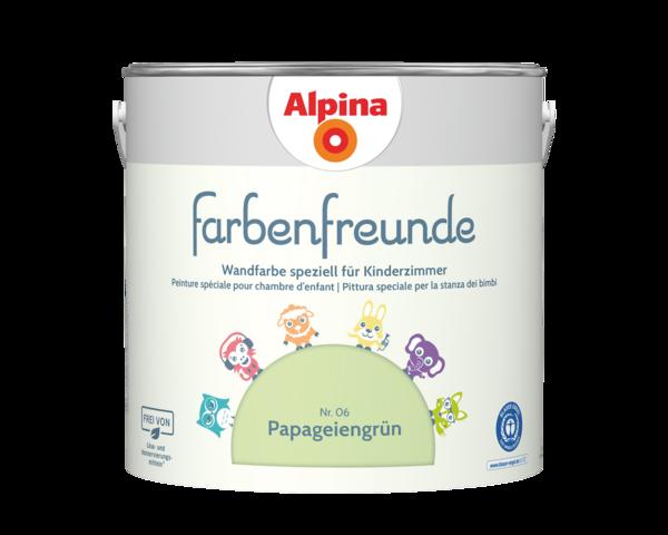 Alpina Farbenfreunde Nr. 06 Papageiengrün - Alpina Farben