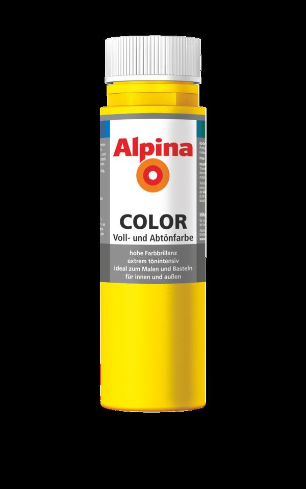 Alpina Color Sunny Yellow - Alpina Farben