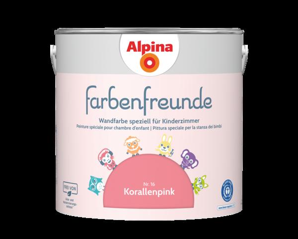 Alpina Farbenfreunde Nr. 16 Korallenpink - Alpina Farben