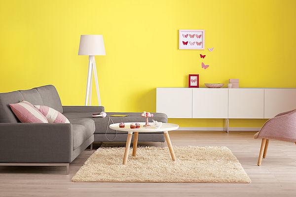 Alpina Farbrezepte Innenfarbe Lemontree - Alpina Farben