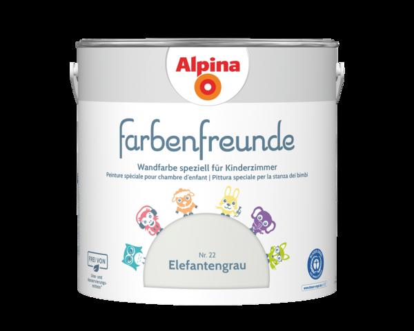 Alpina Farbenfreunde Nr. 22 Elefantengrau - Alpina Farben