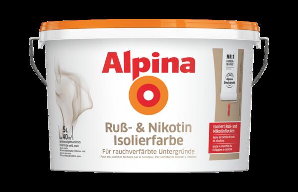 Alpina Ruß- und Nikotin Isolierfarbe - Alpina Farben
