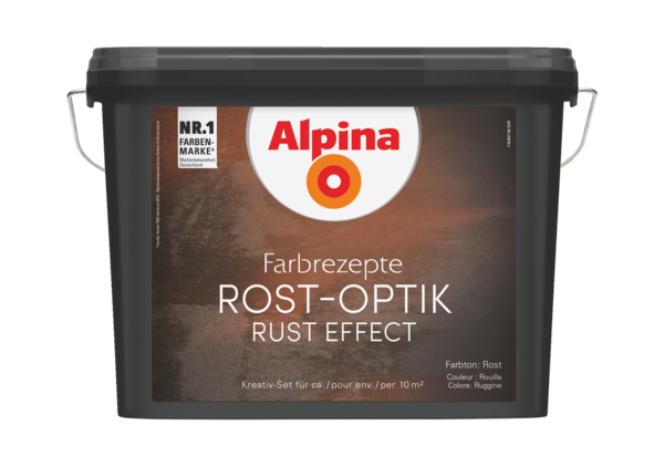Alpina Farbrezepte ROST-OPTIK - Alpina Farben