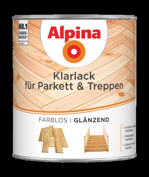 Alpina Klarlack für Parkett & Treppen - Alpina Farben