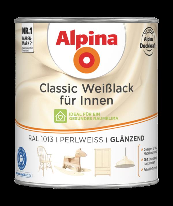 Alpina Classic Weißlack für Innen Perlweiß - Alpina Farben