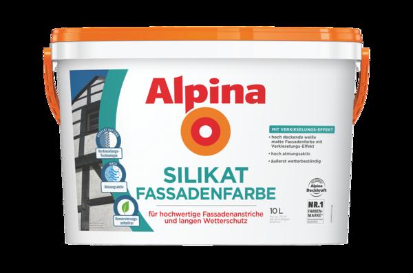 Alpina Silikat FassadenFarbe - Alpina Farben