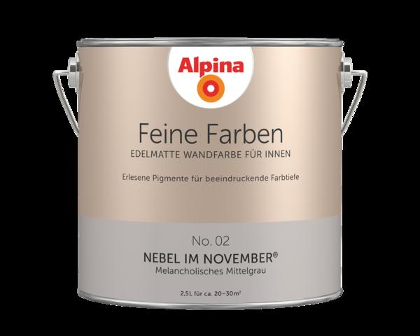 Alpina Feine Farben No. 02 Nebel im November - Alpina Farben
