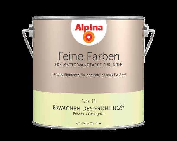 Alpina Feine Farben No. 11 Erwachen des Frühlings - Alpina Farben