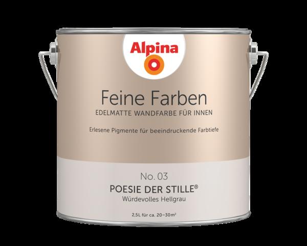Alpina Feine Farben No. 03 Poesie der Stille - Alpina Farben
