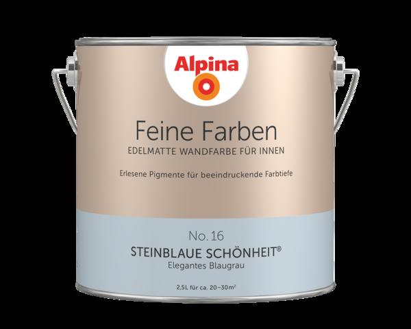 Alpina Feine Farben No. 16 Steinblaue Schönheit - Alpina Farben