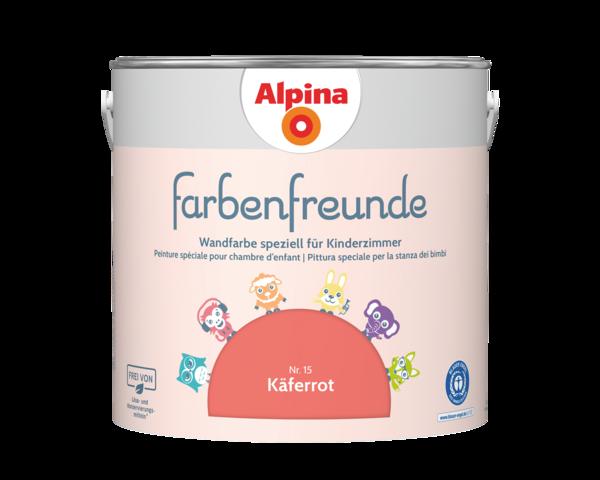 Alpina Farbenfreunde Nr. 15 Käferrot - Alpina Farben