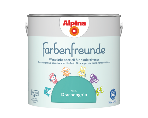 Alpina Farbenfreunde Nr. 20 Drachengrün - Alpina Farben
