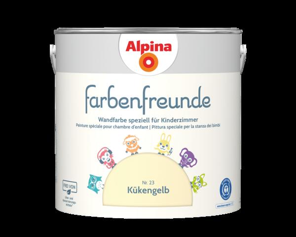 Alpina Farbenfreunde Nr. 23 Kükengelb - Alpina Farben