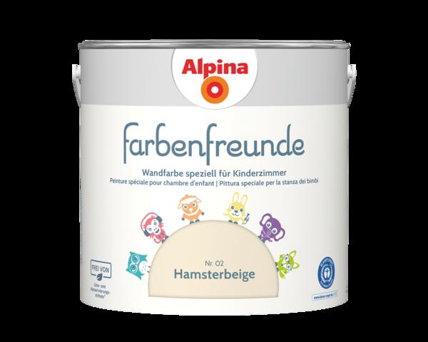 Alpina Farbenfreunde Nr. 02 Hamsterbeige - Alpina Farben