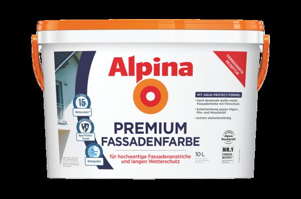 Alpina Premium FassadenFarbe - Alpina Farben