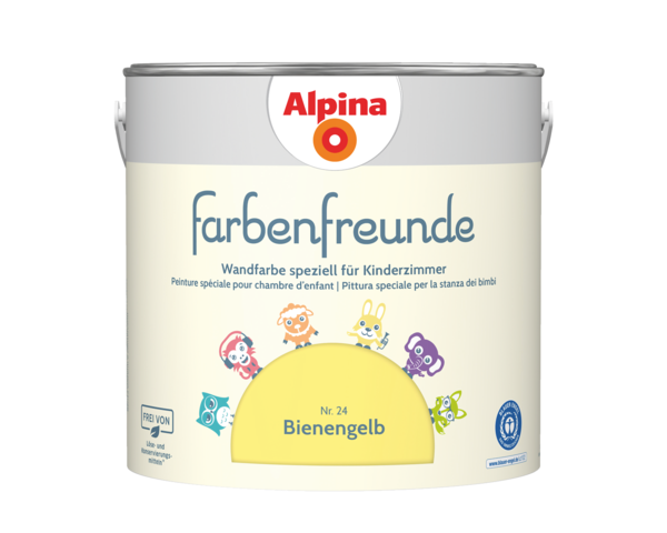 Alpina Farbenfreunde Nr. 24 Bienengelb - Alpina Farben