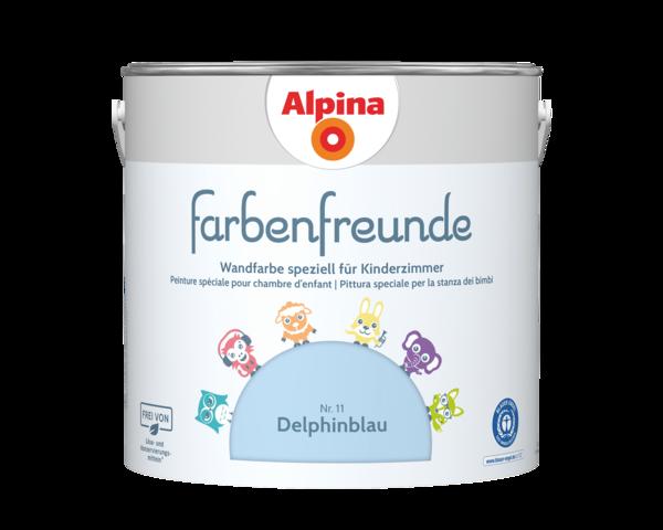 Alpina Farbenfreunde Nr. 11 Delphinblau - Alpina Farben