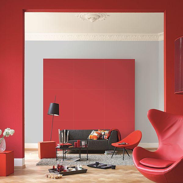 Die Farbwirkung von Rot